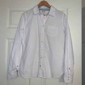 STYLUS 100% Cotton White Button Down Shirt